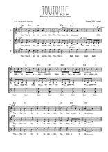 Téléchargez l'arrangement de la partition de berceuse-bretonne-toutouic en PDF à trois voix