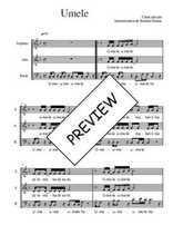 Téléchargez l'arrangement de la partition de Traditionnel-Umele en PDF à trois voix