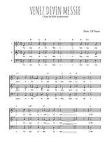 Téléchargez l'arrangement de la partition de noel-venez-divin-messie en PDF à trois voix