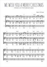Téléchargez l'arrangement de la partition de noel-we-wish-you-a-merry-christmas en PDF à trois voix