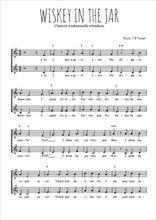 Téléchargez l'arrangement de la partition de Traditionnel-Whiskey-in-the-jar en PDF à deux voix