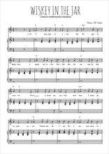 Téléchargez la partition de Whiskey in the jar en PDF pour Chant et piano