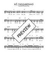 Téléchargez l'arrangement de la partition de Traditionnel-Xo-passarinho en PDF à deux voix