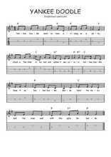 Téléchargez la tablature de la musique usa-yankee-doodle en PDF
